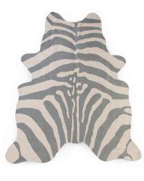 Zebra Kinderteppich - 145x160 Cm - Grau