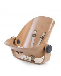 Evolu Newborn Seat For Evolu 2 + One.80° - Wood - Natural Anthracite