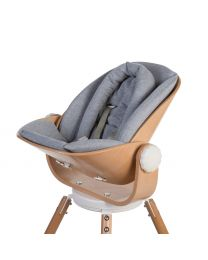 Evolu Newborn Seat Cushion - Jersey - Grey