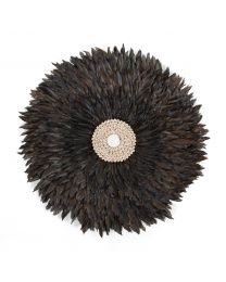 Juju Feathers Wall Decoration - 50 Cm - Anthracite