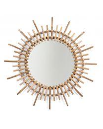 Miroir En Rotin - Fondi - 60 Cm