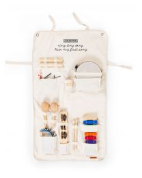 Music Set 8 Instruments + Foldable Organiser - Canvas