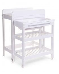 Table A Langer Avec Baignoire (Baignoire Comprise) - Blanc