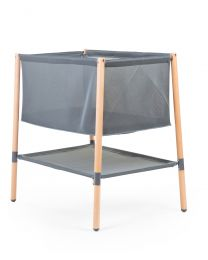 Evolux Crib - 50x90 Cm - Natural Anthracite