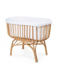 Rattan Cradle Cover - Jersey - Off White
