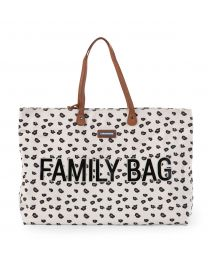 Family Bag Nursery Bag - Leopard