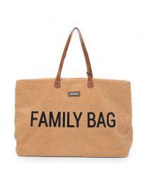 Family Bag Wickeltasche - Teddy Beige