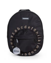 Kids School Backpack ABC - Black Gold