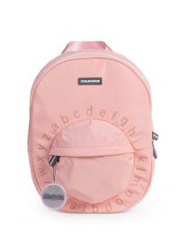 Kids School Backpack ABC - Pink Copper