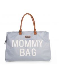 Mommy Bag Nursery Bag - Grey Off White
