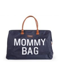 Mommy Bag Nursery Bag - Navy White