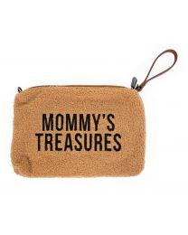 Mommy's Treasures Clutch - Teddy Beige
