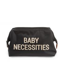 Baby Necessities Toiletry Bag - Black Gold