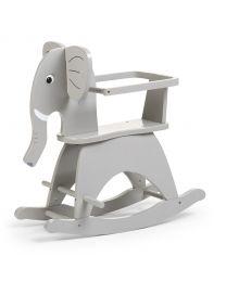 Rocking Elephant + Brace - MDF - Grey