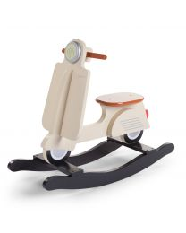 Scooter A Bascule - MDF - Cream
