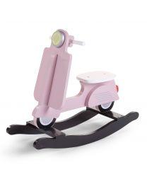 Scooter A Bascule - MDF - Rose Noir