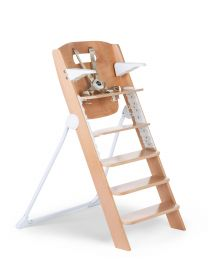 Kitgrow High Chair 4 in 1 - Wood - Natural White
