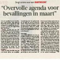 Gazet van Antwerpen – Babyboom