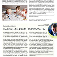 Baby&Junior – Acquisition Béaba – Childhome