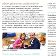 BabyWereld – Acquisition Béaba – Childhome