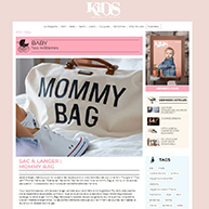 Kids Magazine Mommy Bag